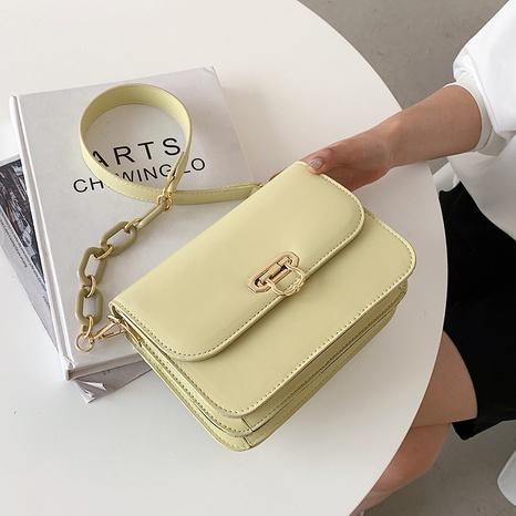 Nouveau sac de messager sauvage de selle occidentale de texture tendance coréenne NHLH347194's discount tags