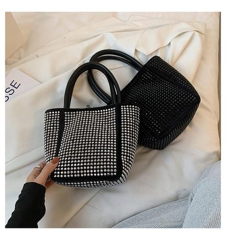 petit sac carré serti de diamants NHLH347228's discount tags