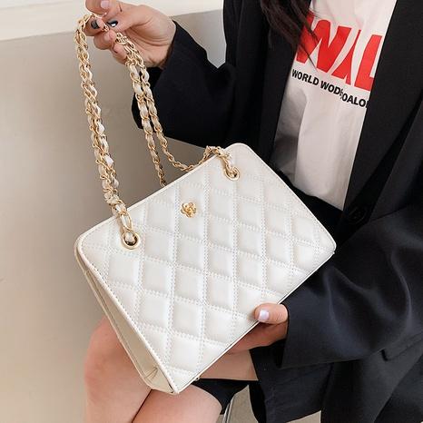 sac à bandoulière à une épaule à chaîne d'épissage de mode NHLH347232's discount tags