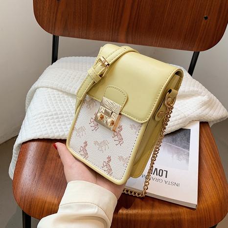 Mode koreanischen Stil neue trendige Mode quadratische Kette Messenger Handytasche NHLH347241's discount tags
