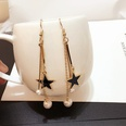NHWB1668772-Five-pointed-star-+-pearl-earrings