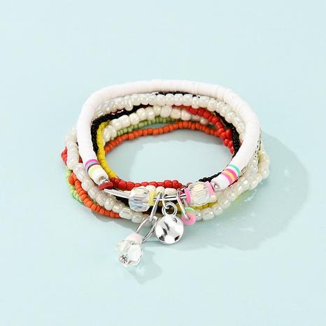 fashion bohemian multi-layered pendant alloy bracelet  NHLP359728's discount tags