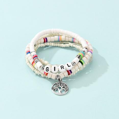 Bohemian fashion beaded multi-layer tree of life pendant bracelet NHLP359729's discount tags