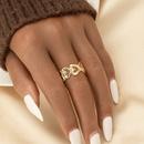 fashion alloy heart shape ring  NHGU365474