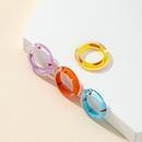 Fashion resin candy color acrylic ring  NHQJ365498