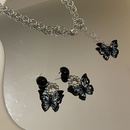 fashion simple butterfly pendant necklace  NHANR365759