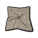 Korean printing satin square silk scarf wholesale  NHAU365786