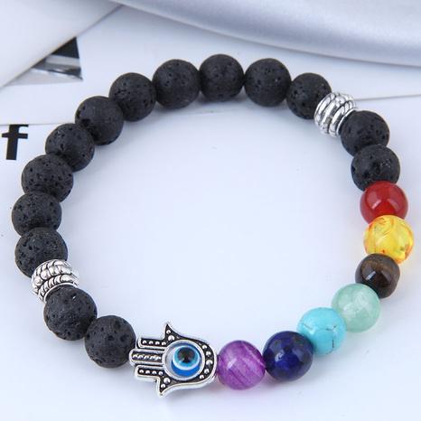 retro demon eye palm beads bracelet NHSC366519's discount tags