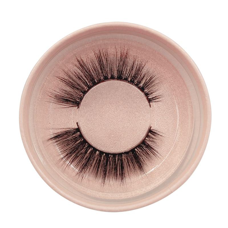1 pair of natural thick false eyelashes 3d mink eyelashes NHLUU366496