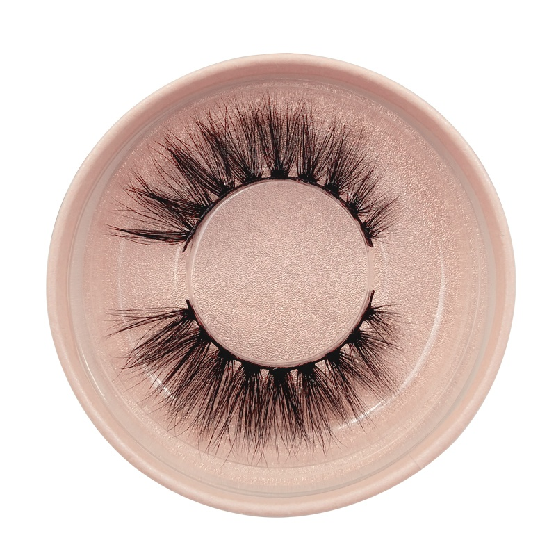 1 pair of natural thick false eyelashes 3d mink eyelashes NHLUU366495