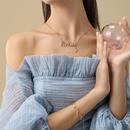 Fashion DIY English letter necklace pendant wholesale  NHWV365326