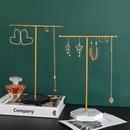 Simple marble Tshaped jewelry storage rack NHAW366066