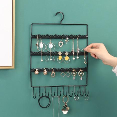 Estante de exhibición del collar del pendiente del gancho de la moda NHAW366063's discount tags