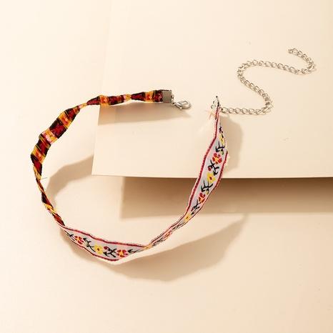 Petit collier floral à fleurs colorées de style clan bohème NHGY366477's discount tags