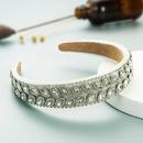 Fabric wideedge diamondstudded womens headband NHLN366261