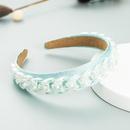 Bandeau en tissu de dcoration de chane en mtal Accessoires pour cheveux de couleur bonbon coren NHLN366263