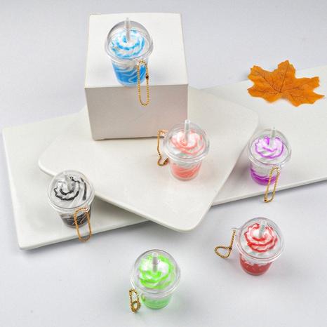 Simulación de helado taza de helado modelo de juguete pvc llavero suave regalo colgante de coche NHWQ366975's discount tags