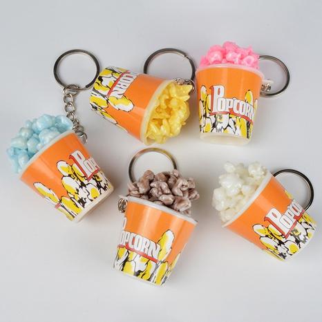 PVC simulación comida palomitas de maíz modelo teléfono móvil llavero colgante imán de nevera regalos creativos NHWQ366969's discount tags