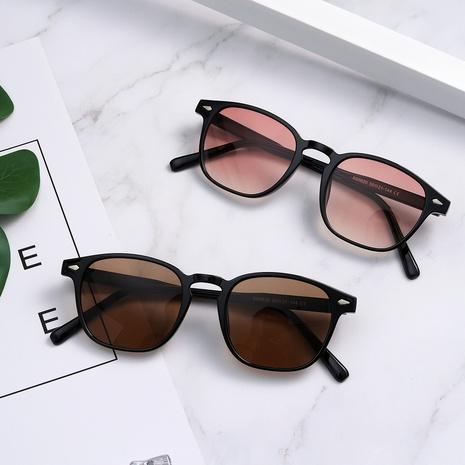 lentes de sol multicolor con estampado de leopardo retro NHXU366346's discount tags