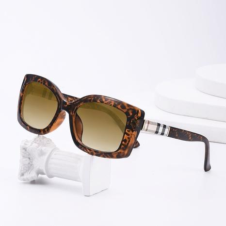 Gafas de sol Fram con estampado de leopardo de moda NHLMO366351's discount tags