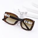 Fashion Leopard Print Fram Sunglasses NHLMO366351