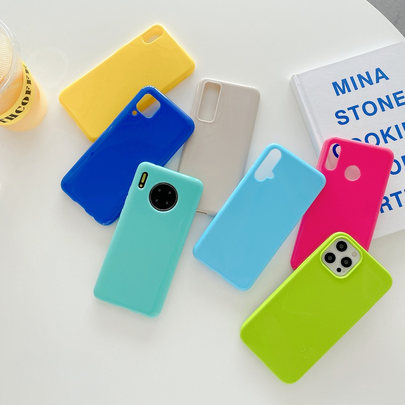 Korean jelly color mobile phone case  NHKI366509