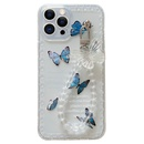 simple transparent butterfly chain mobile phone soft case  NHFI366530