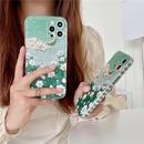 retro oil painting landscape side heart mobile phone case NHFI366550