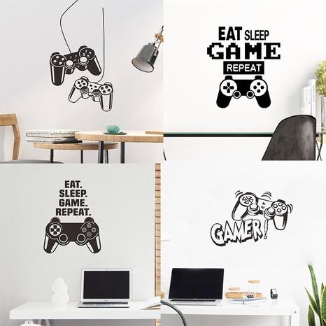 Stickers muraux décoratifs d'entrée de chambre de console de jeu de mode NHAF366703's discount tags