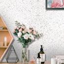 Retro simulation terrazzo bedroom living room background wallpaper NHAF366736