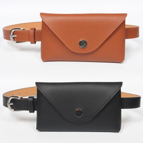 Cinturón fino de moda simple bolso de cintura decoración NHJSR366903's discount tags