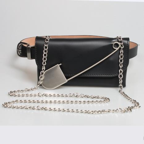 cinturón de decoración de bolso de cintura con pin de cadena de estilo punk NHJSR366909's discount tags