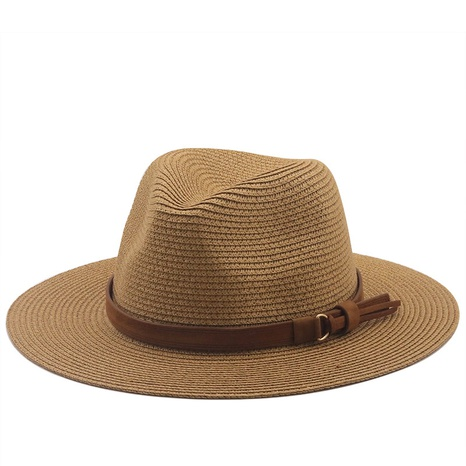 simple sunscreen sunshade cowboy straw hat  NHXV366919's discount tags