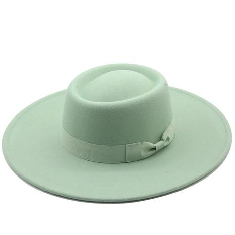 sombrero de paño de lana superior cóncavo de ala grande de moda NHXV366927's discount tags