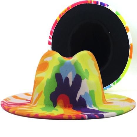 Sombrero de fieltro de lana de ala grande de payaso de moda NHXV366928's discount tags