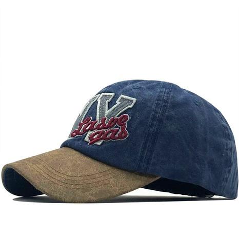Gorra de béisbol con letras de costura de sombrilla coreana NHXV366937's discount tags