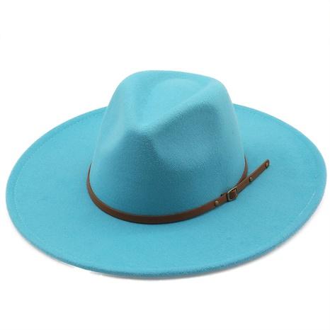 Sombrero de copa de lana de gran tamaño de moda NHXV366949's discount tags