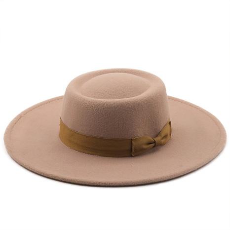 Sombrero retro de jazz de ala grande de paño de lana de otoño e invierno NHXV366951's discount tags
