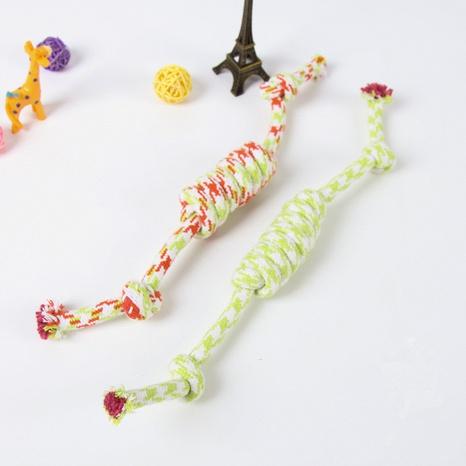 Forme el juguete resistente de la cuerda del algodón del animal doméstico de la mordedura del nudo de la rata NHWY366844's discount tags