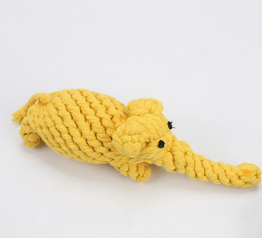 Cuerda de algodón de moda elefante gris masticar juguete para mascotas NHWY366843's discount tags
