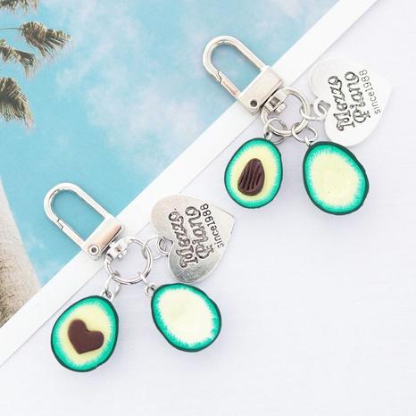 Llavero Airpods aguacate pequeño regalo funda protectora bolsa colgante de coche NHWQ366962's discount tags