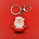 Cartoon Epoxy Environmental Protection Santa Keychain Pendant Christmas Gifts Wholesale NHWQ366970