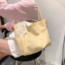 fashion largecapacity single shoulder underarm tote bag NHLH367060