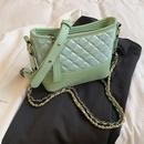 trendy rhombus chain messenger oneshoulder bag NHLH367064
