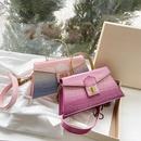 Korean fashion stone pattern gradient color oneshoulder messenger bag NHLH367068