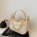 fashion solid color acrylic chain armpit bag  NHLH367074