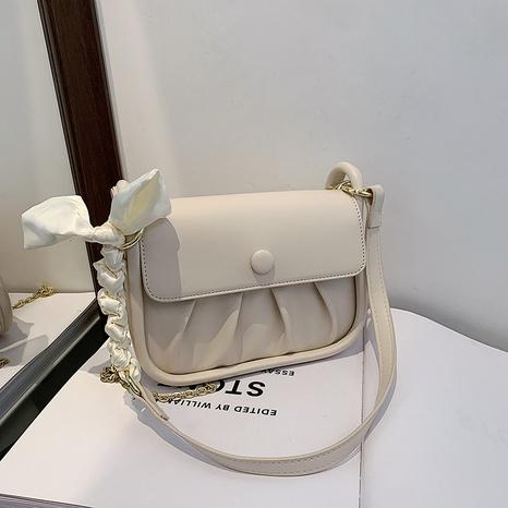 bolso cuadrado pequeño de un solo hombro del mensajero del pliegue de la moda NHJZ367244's discount tags