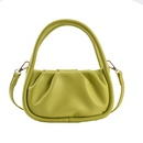 fashion casual fold cloud shoulder messenger bag NHJZ367260