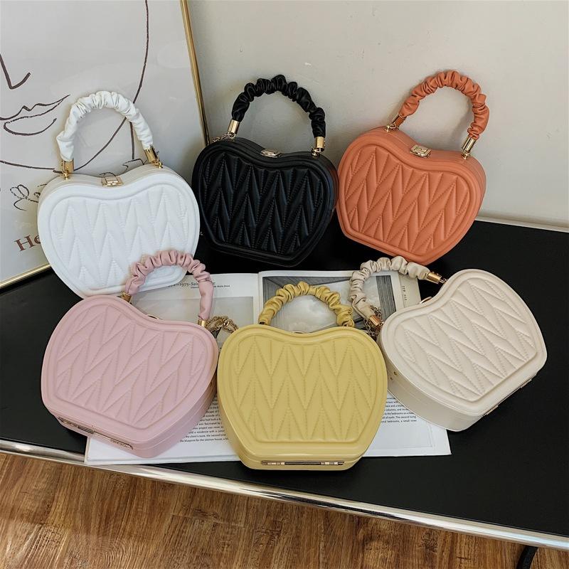 fashion portable apple shape small square bag  NHJZ367282