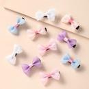 Korean simple childrens bowknot hair rope wholesale  NHNU368859